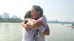 Csay Renáta legenda lett, 20. vb-aranyát nyerte maratoni kajak-kenuban