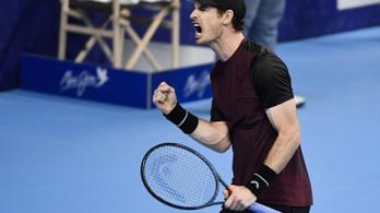 2,5 év után nyert újra tenisztornát Andy Murray