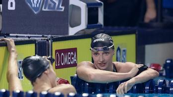 Hosszú Katinka csapata 3. lett az úszást forradalmasító sorozatban