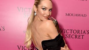 Candice Swanepoel 31 éves lett, mi mással köszönthették volna, mint meztelen fotóval