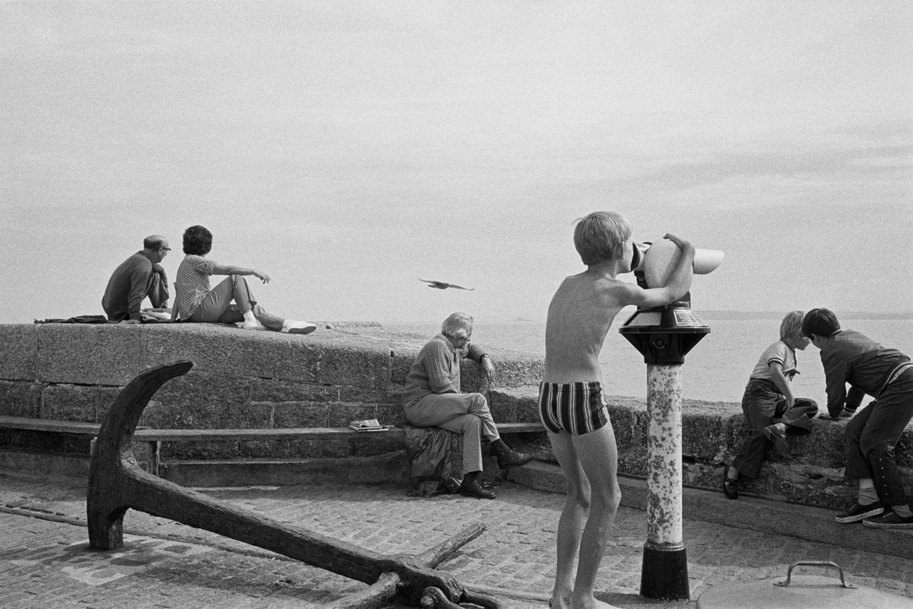St. Ives Cornwallban, Angliában. 1975.