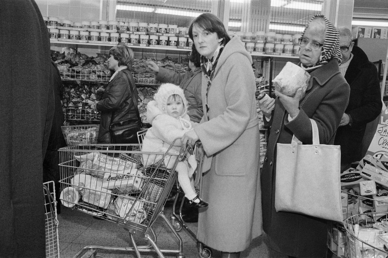 Egy Lennon's Supermarket Prescottban. 1984.