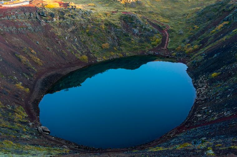 A Kerið a Golder Circle utolsó állomása