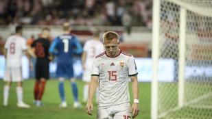 Kleinheisler a Wales elleni Eb-selejtezőn sem játszhat