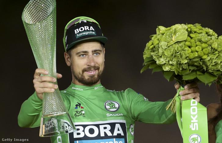 Peter Sagan 2019-ben is megnyerte a Tour de France pontversenyét és zöld trikóját
