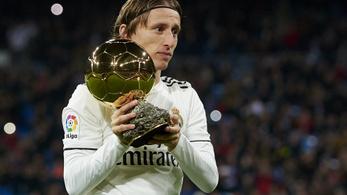 Modrić biztosan nem kap újra Aranylabdát, Neymart sem jelölték