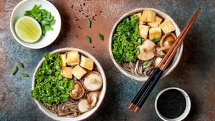 Egészséges és egzotikus leves egyszerűen, shiitake gombából