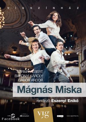 Mágnás Miska plakátja