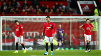 A kiesés ellen küzd a Manchester United