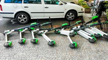 Prága kitiltja az e-rollereket, itthon nincs változás