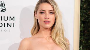 Amber Heard nagyon berágott azokra, akik cenzúrázták a melleit