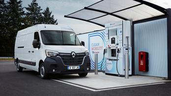 Hidrogén-hajtású haszonjárművek a Renault-tól