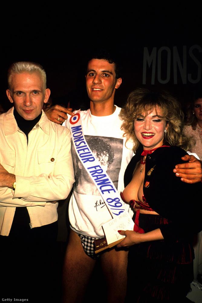 Gaultier egy másik alkalommal az 1989/90-es Mr