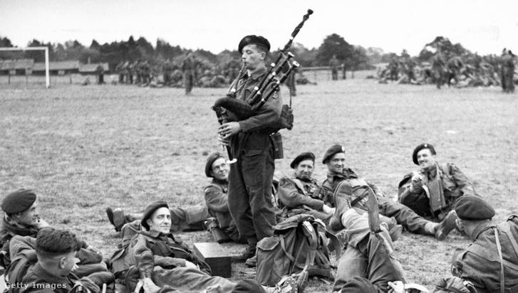 Bill Millin 1944-ben