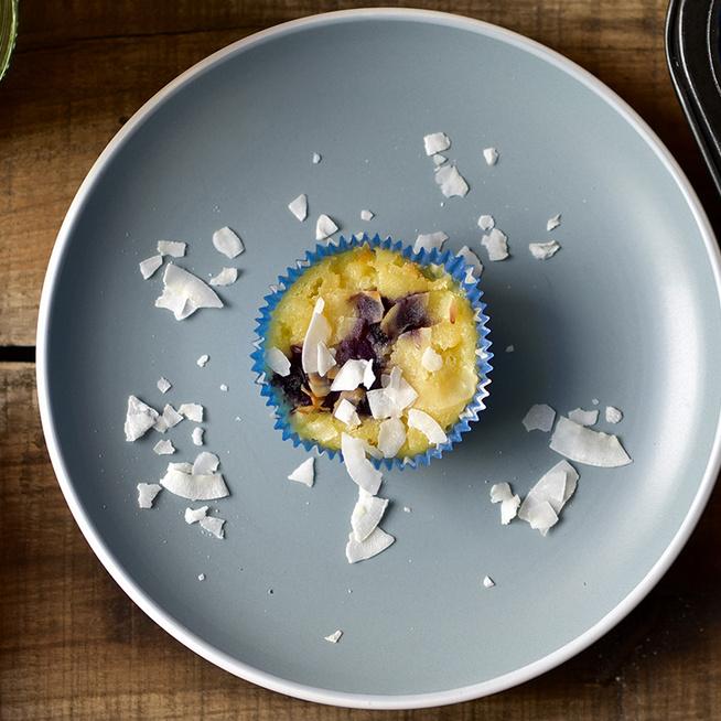 Friss kókuszból a muffin is sokkal puhább, szaftosabb lesz