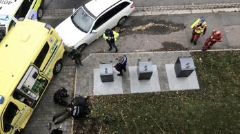 Lopott mentőautóval gázoltak Oslóban