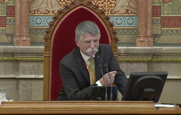 László Kövér, the Speaker of the National Assembly