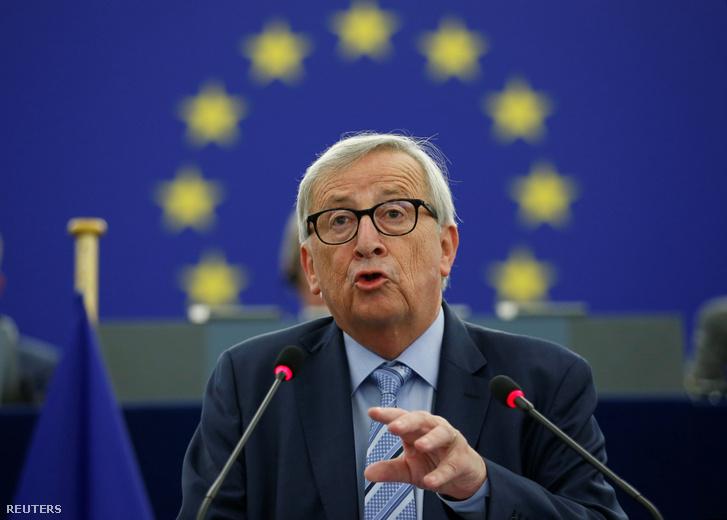 Jean-Claude Juncker 2019. október 22-én.