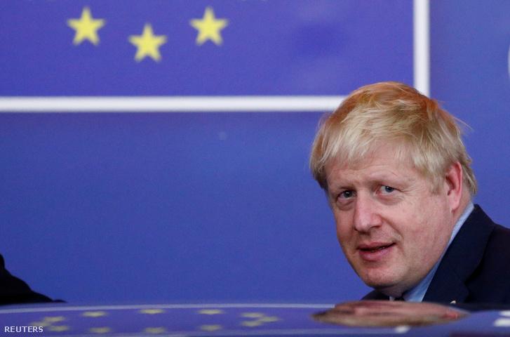 Boris Johnson 2019. október 18-án.