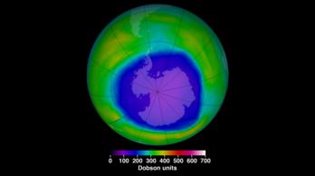 Rekordkicsi az ózonlyuk, de a tudósoknak sem teljesen tiszta, hogy miért