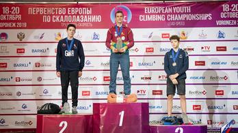 A magyar sportmászás legnagyobb sikerét érte el a 15 éves Vályi Gergő