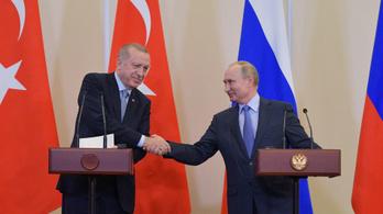 Erdoğan és Putyin megállapodott, hogy a kurdoknak ki kell vonulniuk a határ mellől