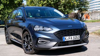 Teszt: Ford Focus Active 2.0 EcoBlue - 2019.