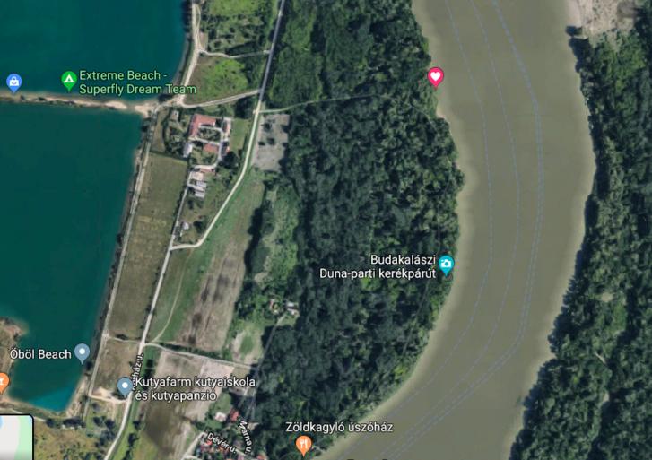 Google Maps fotón látszik, hogy volna, ahol már nem kell fát kivágni