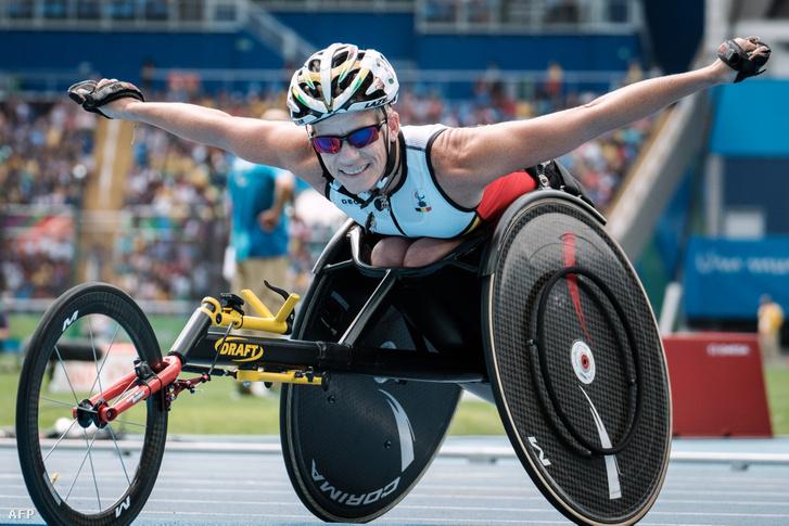 Marieke 2016 szeptember 10-én a riói paralimpián