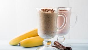 Ezzel kihúzod délig: banános-mogyoróvajas smoothie