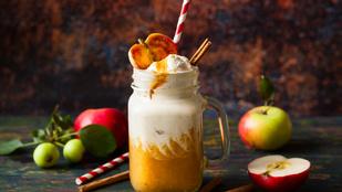 Tökpite a pohárban: meleg pumpkin pie turmix