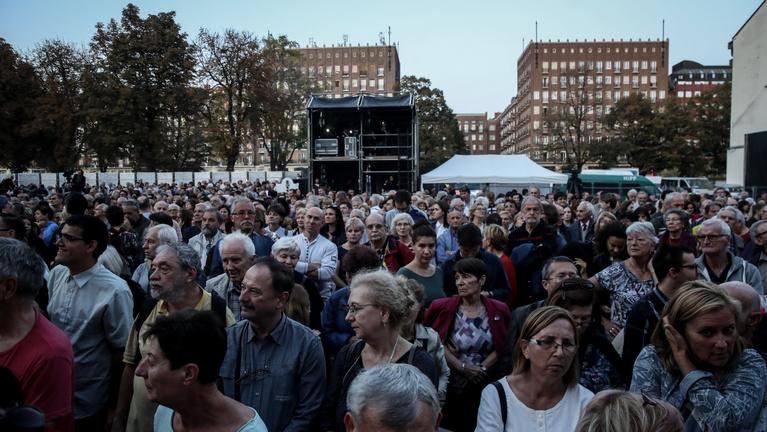 Orbán kerülte az aktuálpolitikát