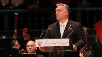 Orbán máshogy nyomta, mint ahogy szokta