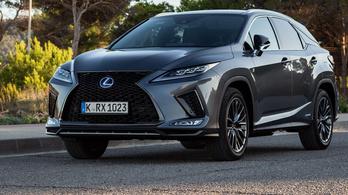 Bemutató: Lexus RX 2020