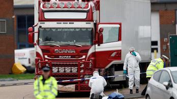Megfagyhattak az áldozatok az angliai halálkamionban