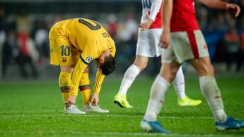 Ilyen az, amikor Messi kikapcsolja magát