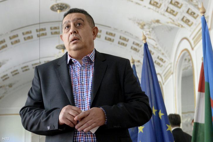 Balogh János az Országos Roma Önkormányzat (ORÖ) vezetője