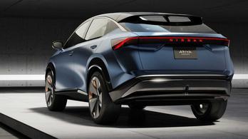 Ebből lehet villanyos városi terepjárója a Nissannak