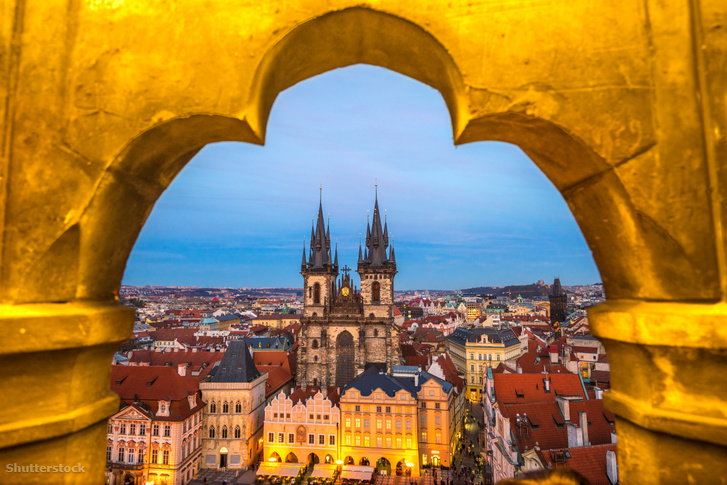 Prága történelmi városközpontja