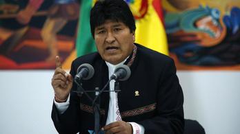 Evo Morales bejelentette, hogy megint győzött