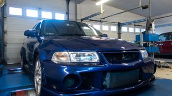 Totalcar Erőmérő: Mitsubishi Lancer EVO VI