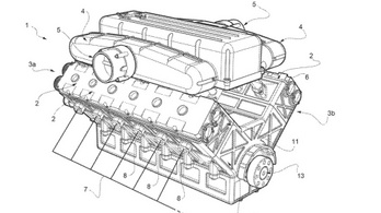 Új V12-es motort fejleszt a Ferrari