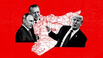 Trump átnyújtotta Szíriát Putyinnak és Erdoğannak