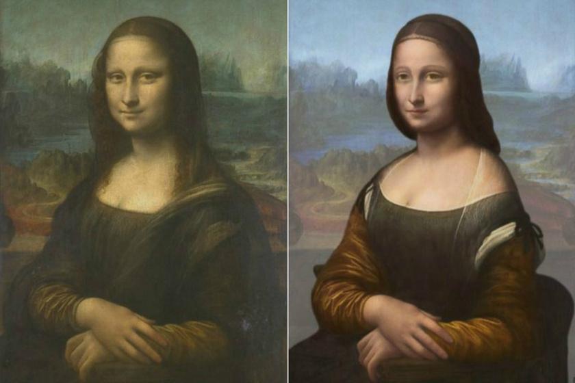 Mona Lisát egy olasz nemesi származású hölggyel, Lisa del Giocondóval azonosítják. A festményen látható arckifejezést már rengetegszer elemezték, de egy 2006-os vizsgálat során kiderült, hogy Mona Lisa mosolya eredetileg szélesebb volt, mint amilyennek ma, a számos restauráció után tűnik.