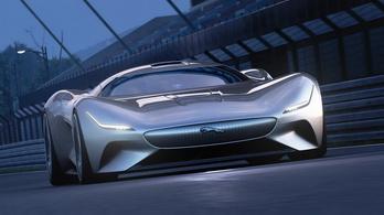 Ezer lóerős álomautót tervezett a Jaguar