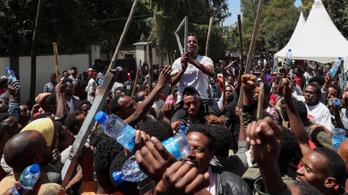 A friss Nobel-békedíjas elleni tüntetésen halt meg legalább 67 ember Etiópiában