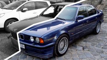 Krisztián feltámasztotta a BMW M5-verő Alpinát