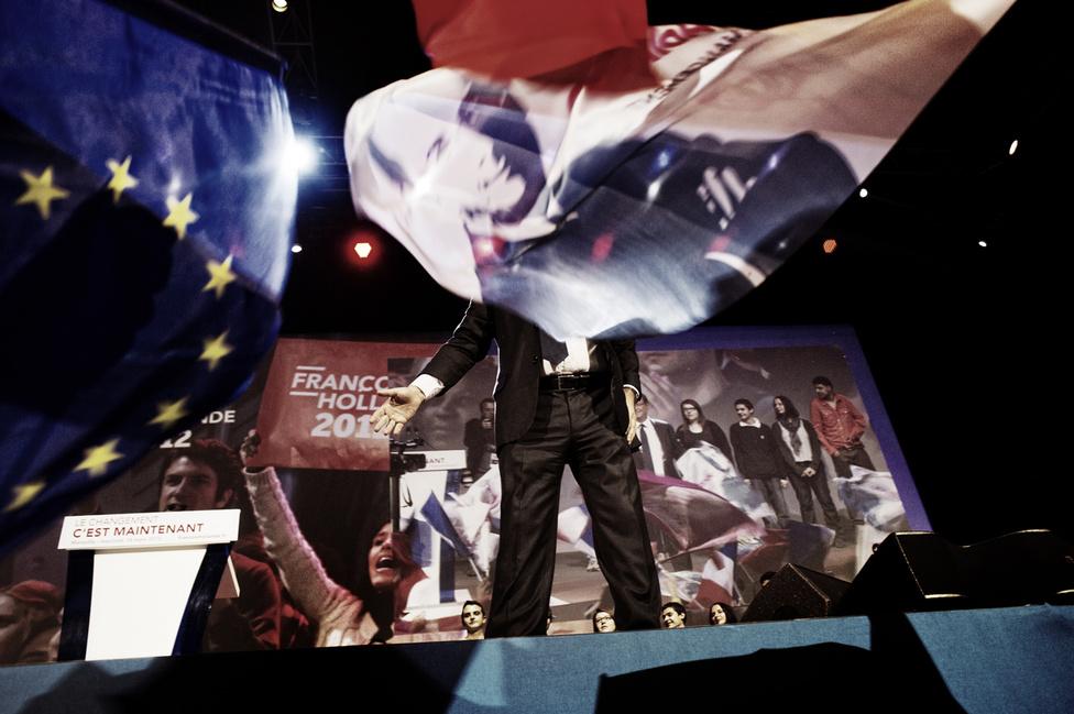 Gyűlés Zénith de Marseille-ben. 2012. március 14.