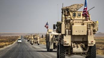 Irak felől visszatért Szíriába egy amerikai katonai konvoj