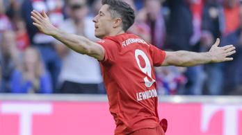Lewandowski megállíthatatlan, 9/9-es rekordot állított fel